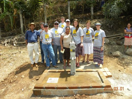 February 2013 | Water well for the people of Aguacayo.