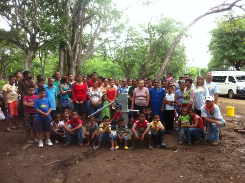 August 2014 | Water well for the people of La Curva, Nicaragua