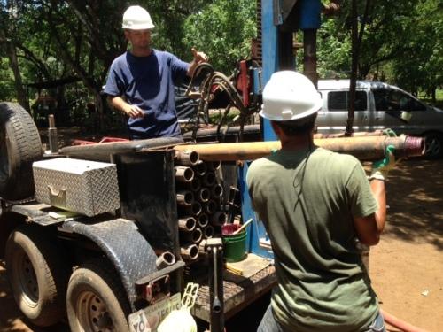 Drilling Begins