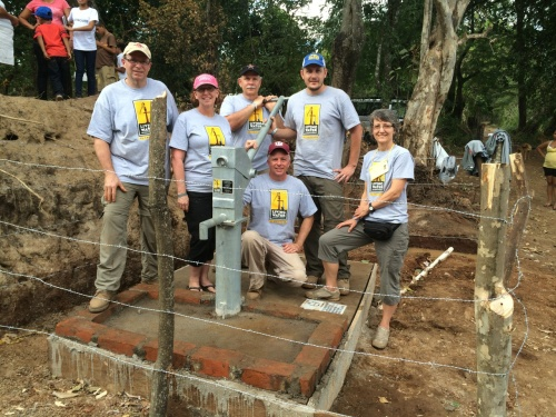February 2015 | Water for the people of Los Cernas | El Salvador